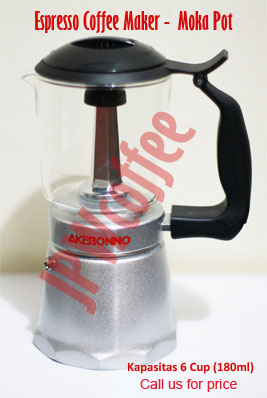 espresso coffee maker - moka pot