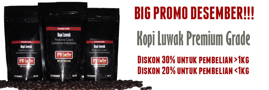promo kopi luwak