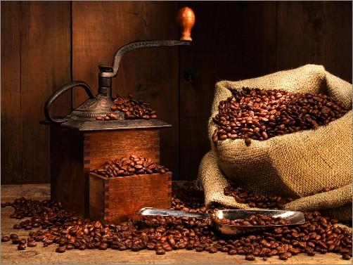 penghalusan biji kopi