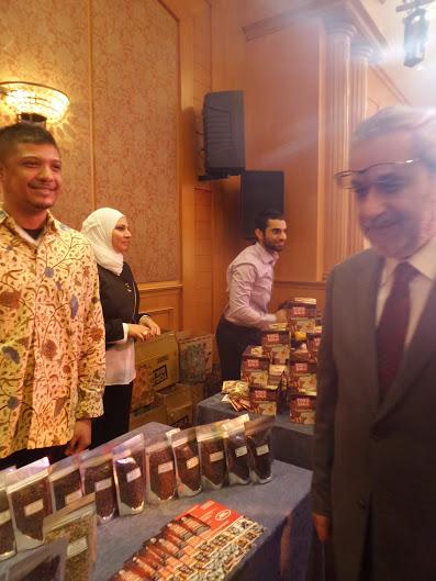 JPW Coffee bersama Wakil Presiden Lebanon